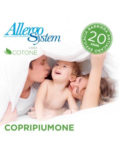 Copripiumone antiacaro 100% Cotone -...