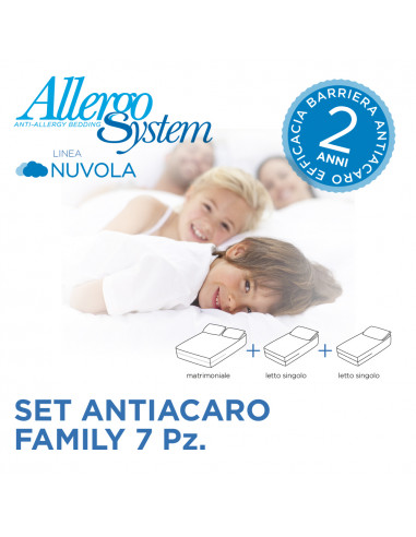 Set Antiacaro Family - Nuvola  (7 Pz.)