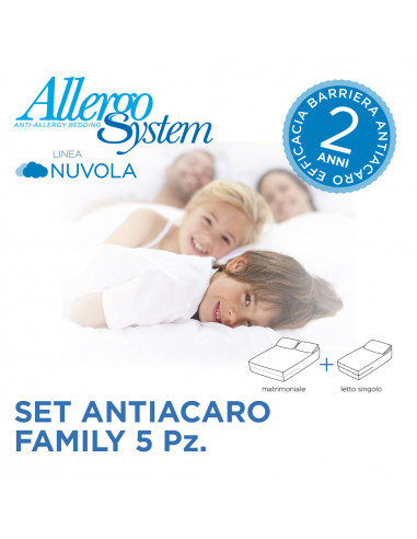 Set  Family - Nuvola  (5Pz)