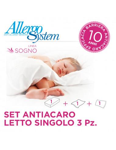 Single Bed Set - Sogno (3Pcs)