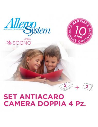 2 X Single Bed Set - Sogno (4Pcs)