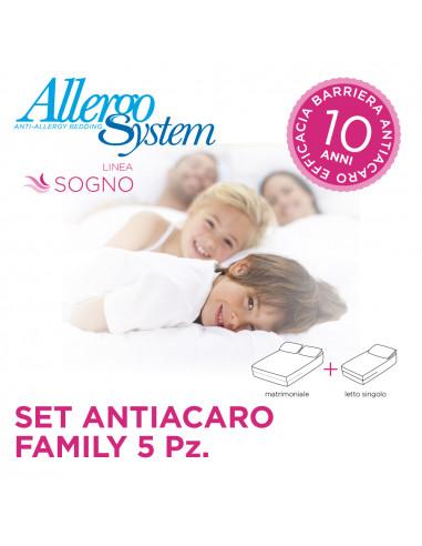 Set Antiacaro Family - Sogno (5Pz)