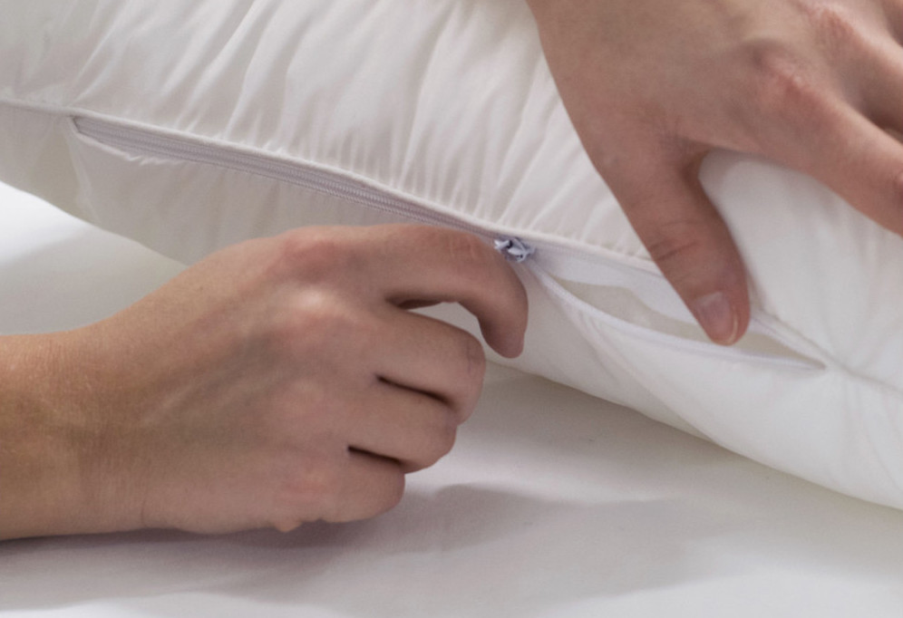 cuscino antiacaro regolabile